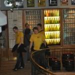 Oelder Borussen bei der Pott's Brauereibesichtigung