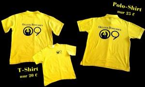 Vereinseigene T-Shirts und Polo-Shirts, Oelder Borussen