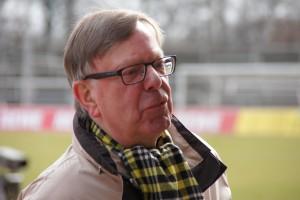 Unser Guide, Herr Gerd Kolbe, ehemaliger Pressesprecher der Stadt Dortmund & von Borussia Dortmund